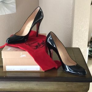 Christian Louboutin Decollette Patent leather